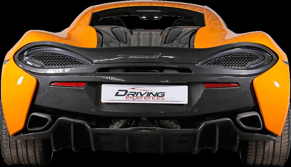 McLaren 570s Back