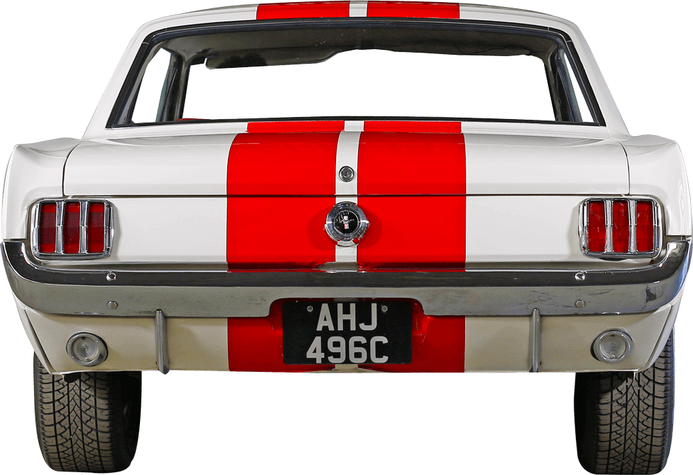 Mustang GT350  Back