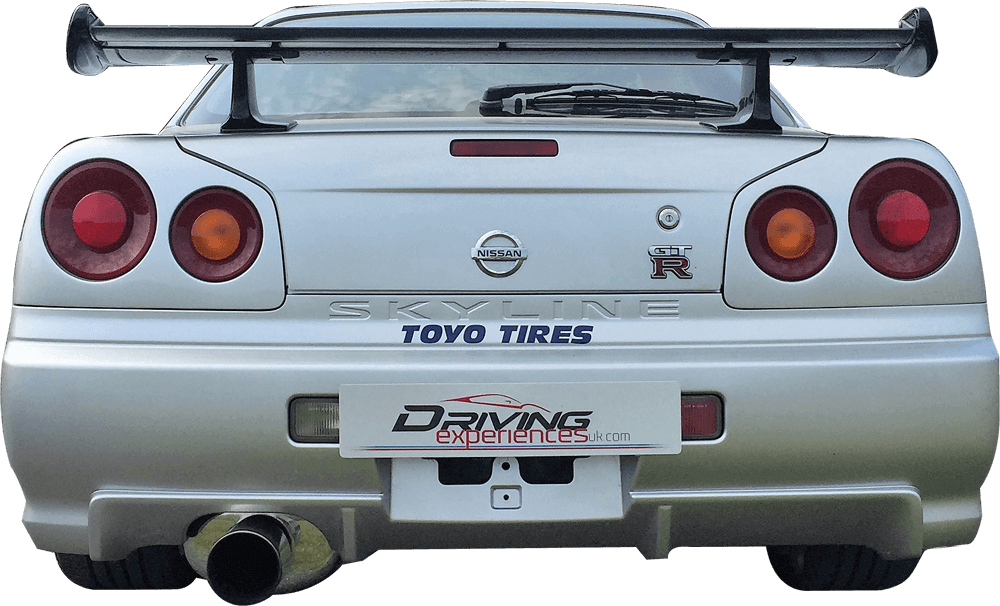 2 Fast 2 Furious R34 Skyline Back