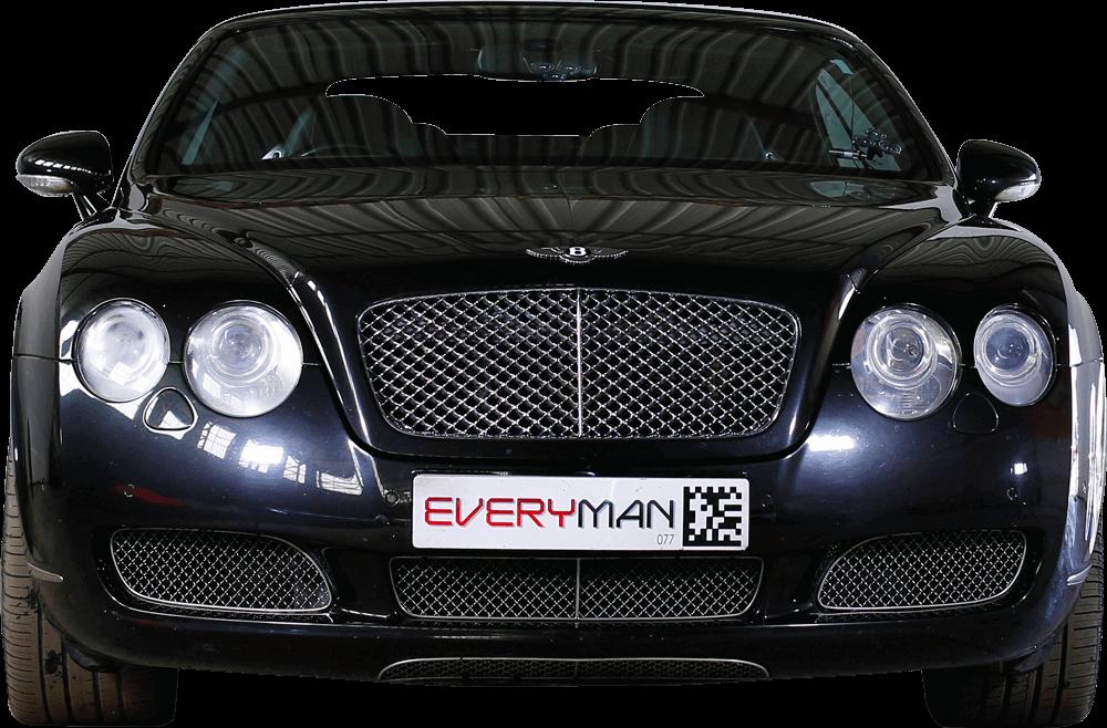Bentley GT  Front