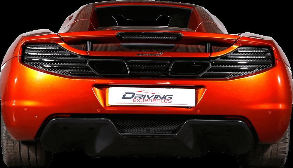 McLaren MP4-12C  Back