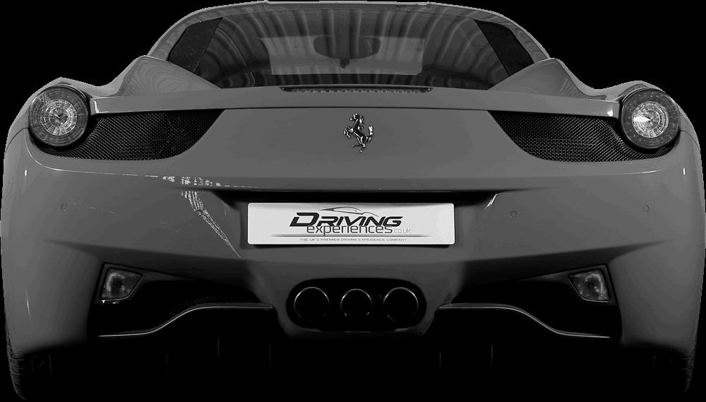Ferrari 458  Back