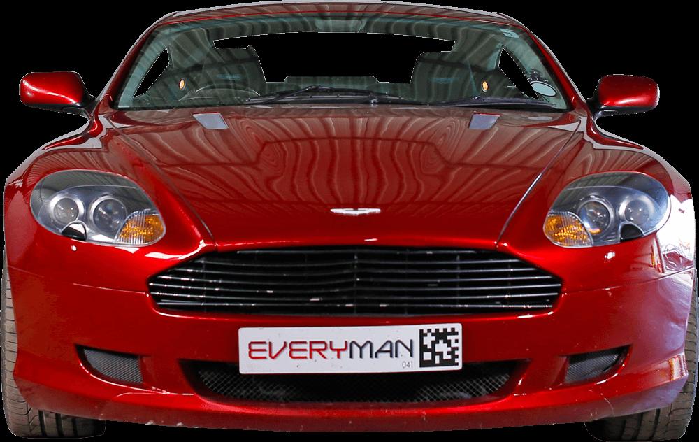 Adaptive Aston Martin Front