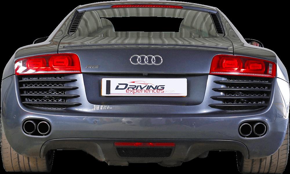 Audi R8 V10  Back