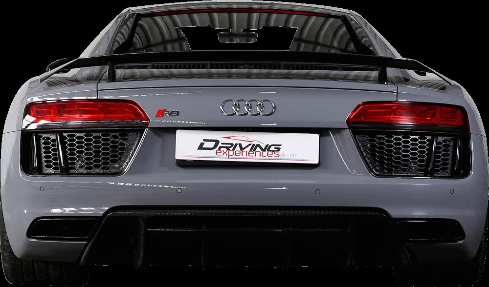 Audi R8 V10+  Back