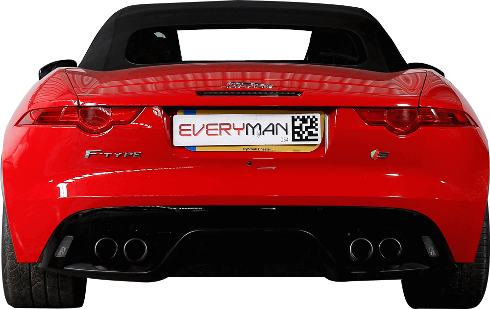 Jaguar F-Type  Back