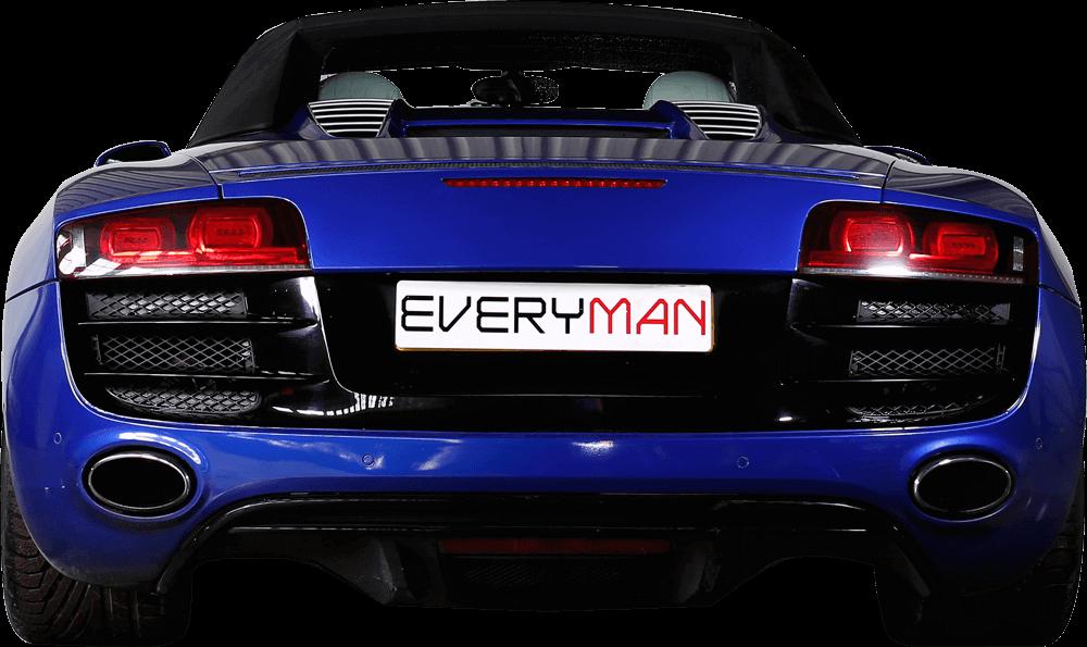 Adaptive Audi R8 Back