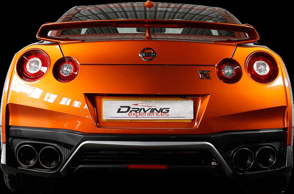Nissan GTR Gen 3  Back