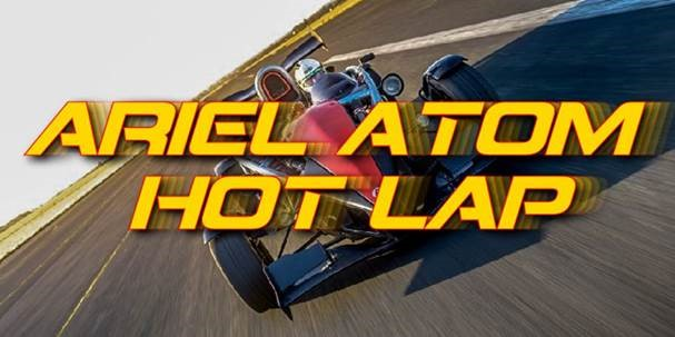 Ariel Atom Hot Lap (1 Lap) Upgrade